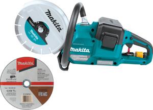 """Makita XEC01Z 36V (18V X2) LXT Brushless 9 inch (9"""") Power Cutter - Bare Tool"""