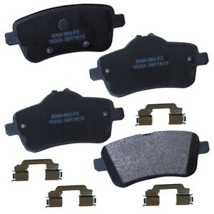Disc Brake Pad Set-Stop Semi-Metallic Brake Pad Rear Bendix SBM1630A