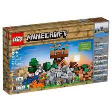 21135 THE CRAFTING BOX 2.0 minecraft lego legos set NEW steve HORSE cow SLIME
