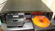 SONY RCD-W222ES 5 Disc CD Changer player Recorder Burner w/ PDF manual RARE
