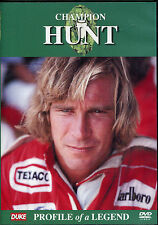 CHAMPION JAMES HUNT DVD PROFILE OF A LEGEND - FORMULA 1