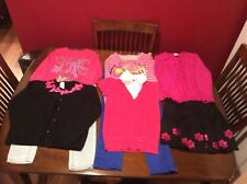 Justice & Gymboree Girls Outfits, Tops,Sweaters,Pants Sz 7-8 Very Good To Euc