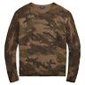 New Polo Ralph Lauren Aran Knit Wool Sweater Camo L sweatshirt cardigan jean rrl