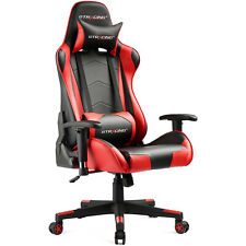 GTRACING Gaming Chair Racing Office High-back Computer Game Chair w/pillows