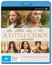A Little Chaos (Blu-ray, 2015) Transmission Brand New Sealed Free Shipping