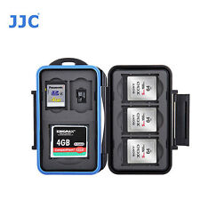 JJC MC-STCQ8 Memory Card Case fits 1 CF 2 SD 3 XQD 2 MSD Storage camera water RE