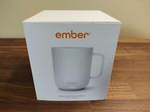 Ember CM191002US Temperature Control Smart Mug ^2 - White - New Open Box!