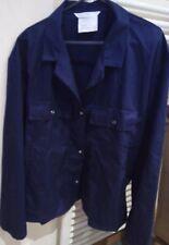 Travail Uniforme Veste Bleu Marine Taille 124R