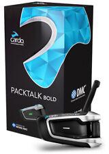 Cardo PACKTALK Bold Single JBL Bluetooth Motorcycle Helmet Com System PTB00001