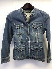 Live A Little Nordstrum Women's Girls Denim Jean Jacket Size PS AR10108