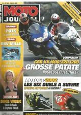 MOTO JOURNAL N°1514 CBR XX 1000 / ZZR 1200 / POTS : LA GUERRE DU BRUIT1514