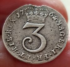 More details for 1762 george iii  maundy threepence edge damage