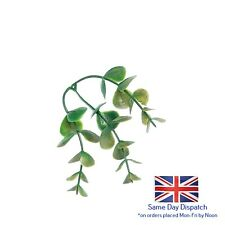 Artificial Eucalyptus Leaf Clusters Green10.5 cm packs of 3, 6, 12 and 48 craft