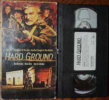 HARD GROUND (vhs) Burt Reynolds, Bruce Dern, Amy Jo Johnson. Good Cond. Rare. NR