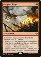 Outpost Siege - Fate Reforged NM/M - Sacrifice Card Draw Big Red EDH