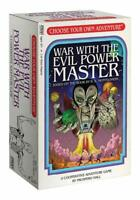 War With The Evil Power Master Choose Your Own Adventure Game FFG CYA02