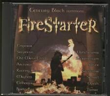 FIRESTARTER CD Gothich Metal Opeth Rotting Christ Katatonia Ulver Borknagar