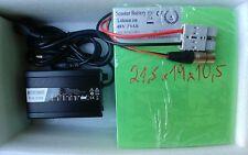 48V 30Ah Lithium-ion Akkupack ElektroScooter Akku Lithium Batterie 5A Ladegerät!