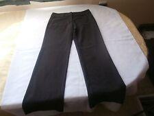 New York and company women's gray dress pants size 0 straight cut inseam 29