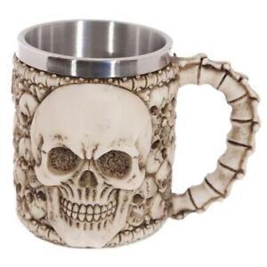 3D Skeleton Bones Resin Double-layer Stainless Steel Mug Drinking Cup 10