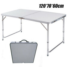 Aluminium Campingtisch Klapptisch Buffettisch Gartentisch Klappbar 120x60x70 cm