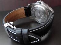 QUALITY THICK REPLACEMENT DEPLOYMENT LEATHER STRAP TO FIT PANERAI WATCH