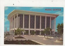 Music Center Los Angeles 1968 Postcard USA 647a