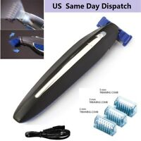 Multi-functional Men's Rechargeable Trims Edges Razor Shaver Edger Smooth Touch