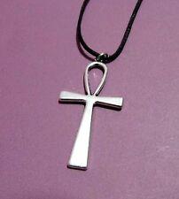 Egyptian Ankh Cross Ansata Key Of Life Large Pendant Adjustable Necklace