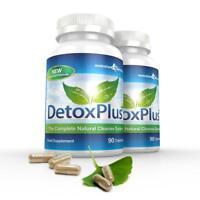 Détox Plus Pur Sécurité Nettoyage Du Côlon Perte de Poids 180 Gélules