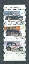 CYPRUS STAMPS COMPLETE SET HISTORIC & OLD CARS 2003 MNH SPECIMEN TENANT