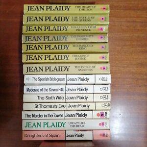 Job Lot of Vintage Jean Plaidy Pan Paperback Books X 14. Vgc.