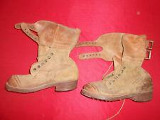 GREEK ARMY: 1950-70  DOUBLE BUCKLE BOOTS ( dok ) MILITARIA