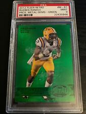RUEBEN RANDLE GREEN PRECIOUS METAL GEMS ROOKIE PMG LSU RC 2012 FLEER RETRO PSA 9