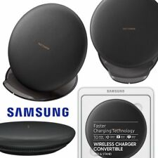GENUINE SAMSUNG GALAXY Note8 S8+ QI WIRELESS CONVERTIBLE CHARGER FAST CHARGE BLK