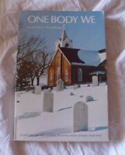 BOOK ONE BODY WE HISTORY OF CENTRAL PENNSYLVANIA LUTHERAN CHURCH SYNOD 1938-1978