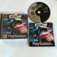 Killer Loop / Complete / Black Label Playstation 1 / PS1 PS2/PS3 / PAL / Racing