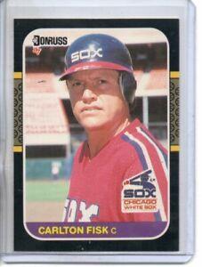 1987 DONRUSS CARLTON FISK (NM/MT) *