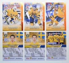 2020 BY cards IIHF U20 World Championship Team Sweden PREMIUM Pick a Player Card