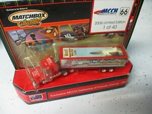 """Matchbox Collectibles Scania Box Truck """"MCCH Gathering"""", Color Comp"""