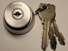 Japanese Miwa U9 high security locksport lock cylinder with 3 keys
