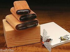 "DELUXE UNIVERSAL BUG BODY ""3 CUTTER SET""  with Wood Caddy Box -- Fly Tying"