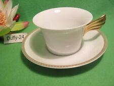 % taza de té 2 piezas meandere d or versace de Rosenthal ya%