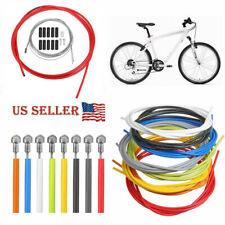 XLC Derailleur Cable Kit-Road Bike-Mountain Bike-MTB-Silver Housing-New