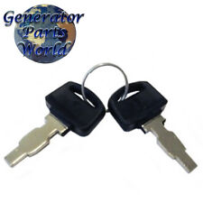 2 Eastern Tools Ignition Switch Keys for Equipment Etq Gas Generator 3 Way