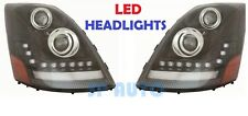 VOLVO VNL VNM VNX 300 430 2004-2015 LED DRL HEADLIGHTS HEAD LAMPS LIGHTS