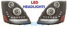 VOLVO VNL VNM VNX 630 670 2004-2015 LED DRL HEADLIGHTS HEAD LAMPS LIGHTS
