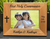Personalized Engraved // First Holy Communion // Picture Frame