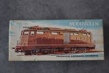 MARKLIN 3035 Locomotive Electric TRAIN HO FS E424 BREDA