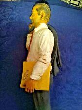 """Antonio Di Pietro scultura in ceramica San Gregorio Armeno """"Mani Pulite"""""""
